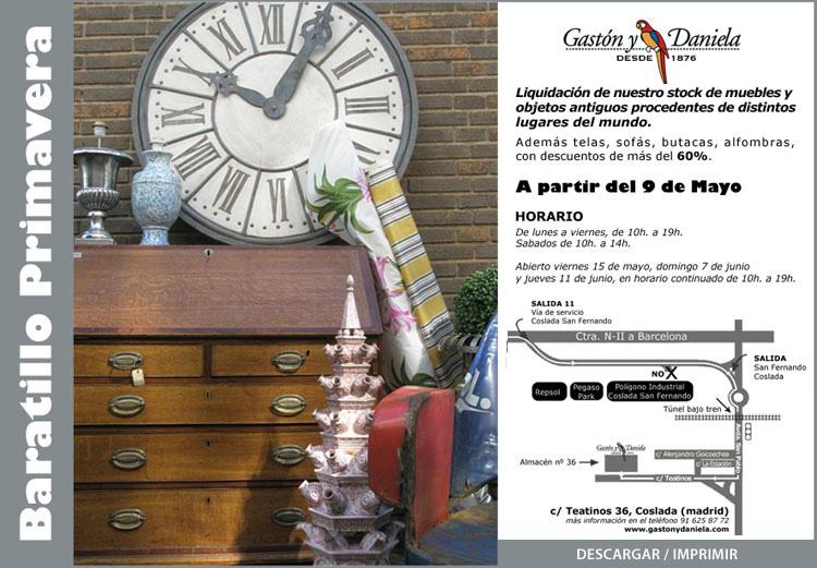 Mercadillo de gaston y daniela en madrid mayo 2009 for Gaston y daniela telas