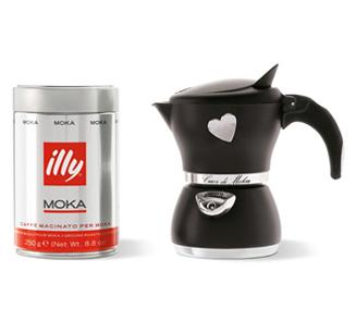 Cafetera moka illy - Cafetera moka ...