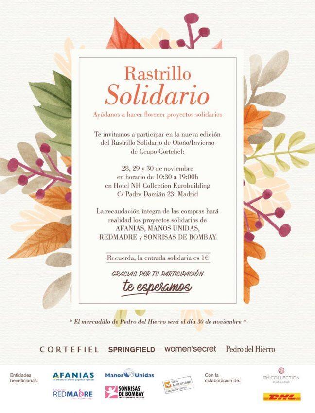Rastrillo Solidario Cortefiel