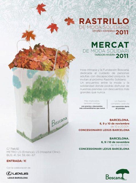 Mercadillo Solidario de Hoss Intropia en Barcelona