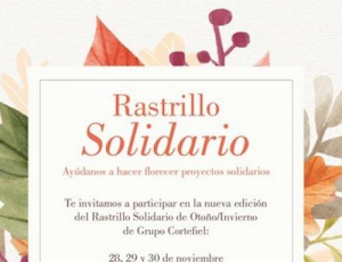 Rastrillo Solidario del Grupo Cortefiel en Madrid