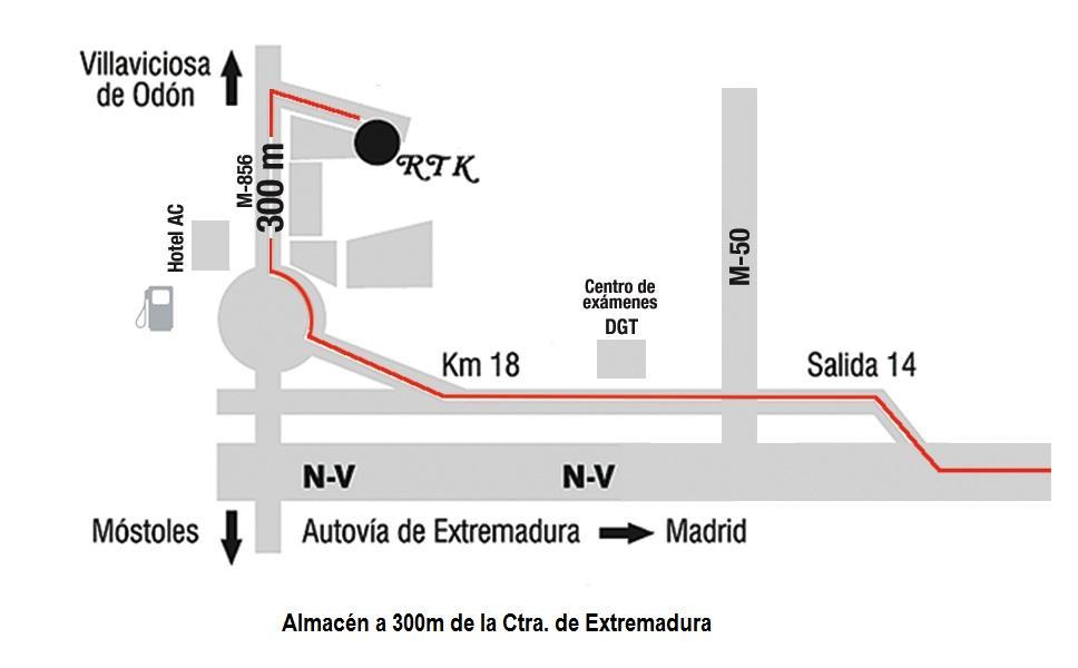 centro examen trafico madrid: