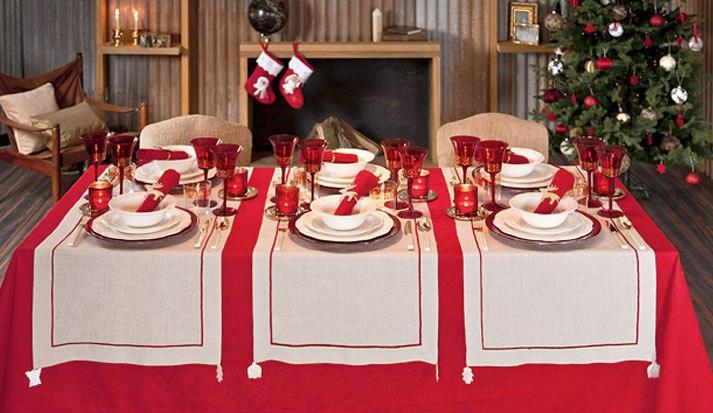 Colocaci n de la mesa para las fiestas - Zara home navidad ...