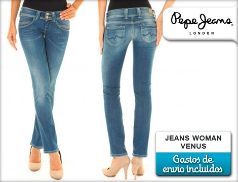 2eb3b906f0b6a Vaqueros Pepe Jeans a mitad de precio