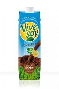 probando la soja vivesoy