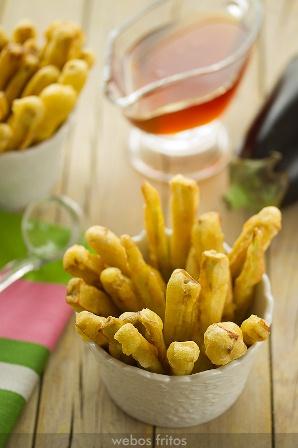 tempura de berenjenas