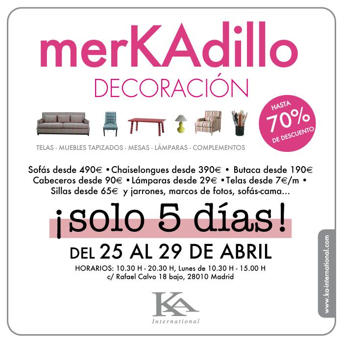 Mercadillo de ka en abril de 2013 - Ka internacional sofas ...
