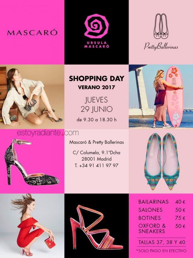 Pretty Ballerinas Shopping Day Verano Mascaró