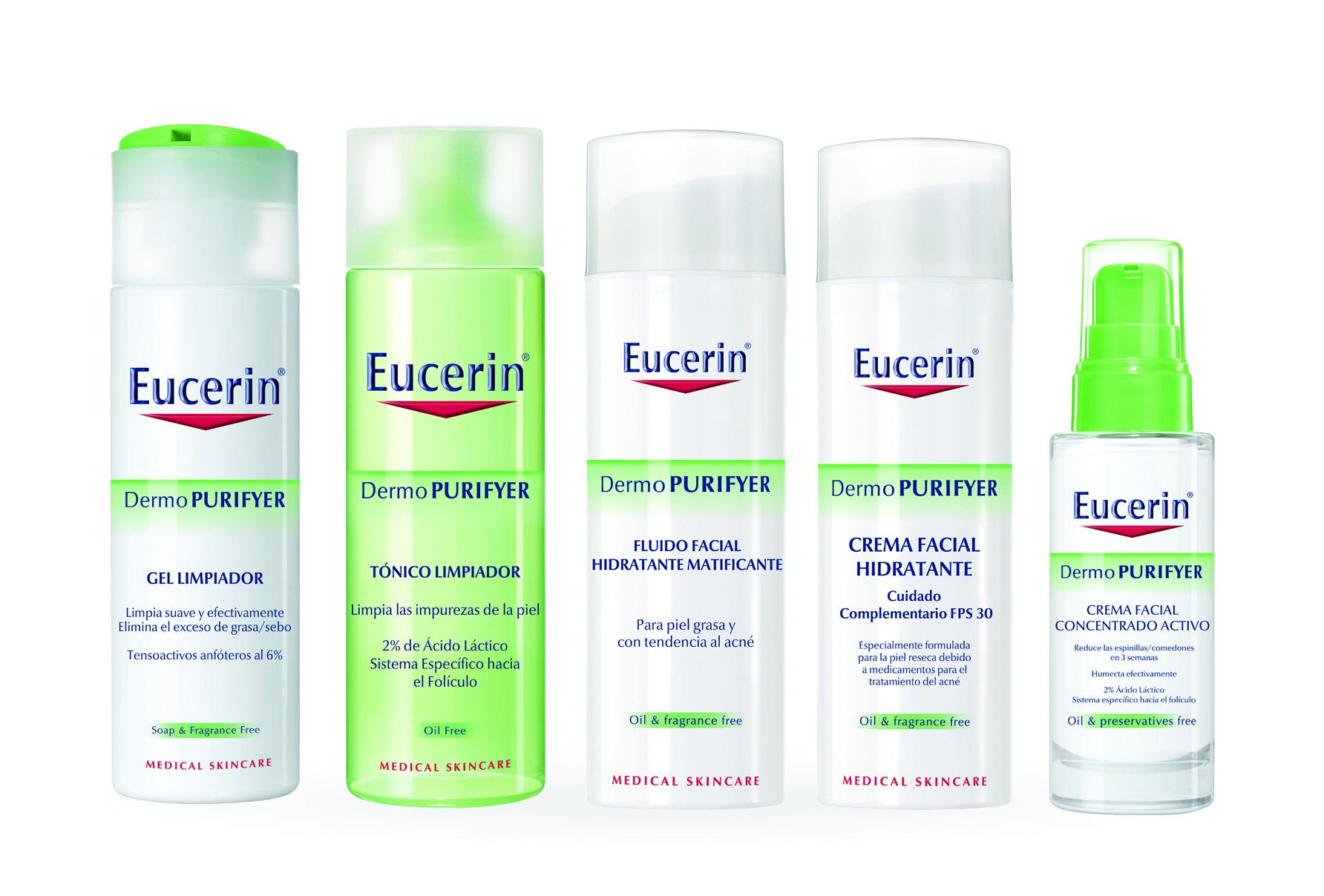 Productos para el acné Eucerin DermoPurifyer