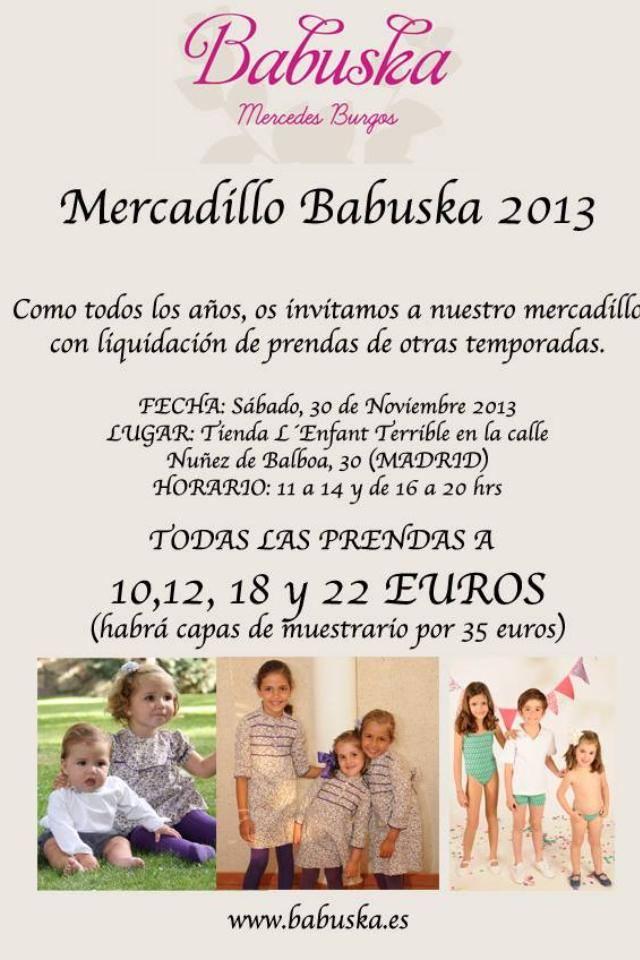 Mercadillo Babuska 2013