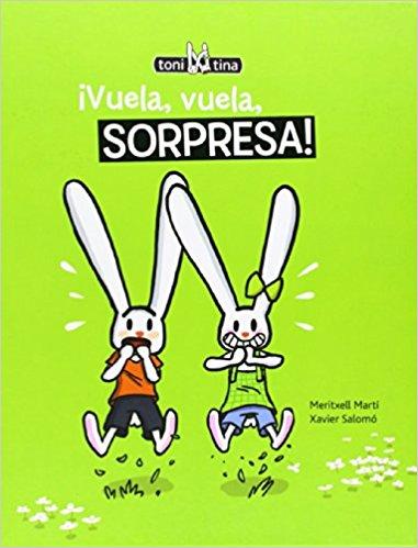 Toni y Tina libros infantiles vuela vuela sorpresa