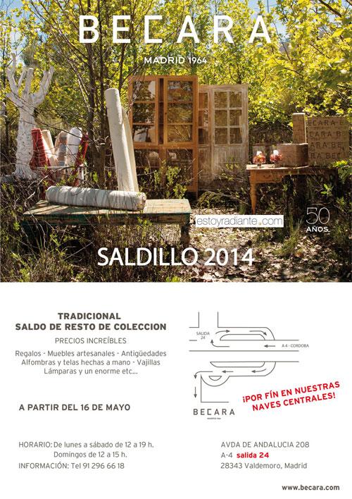 Saldillo becara 2014 - Muebles becara outlet ...