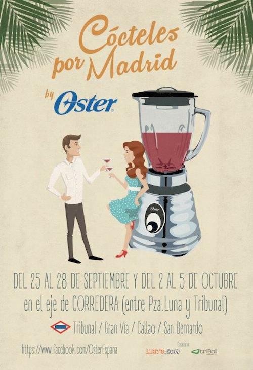Ruta de cócteles en Madrid