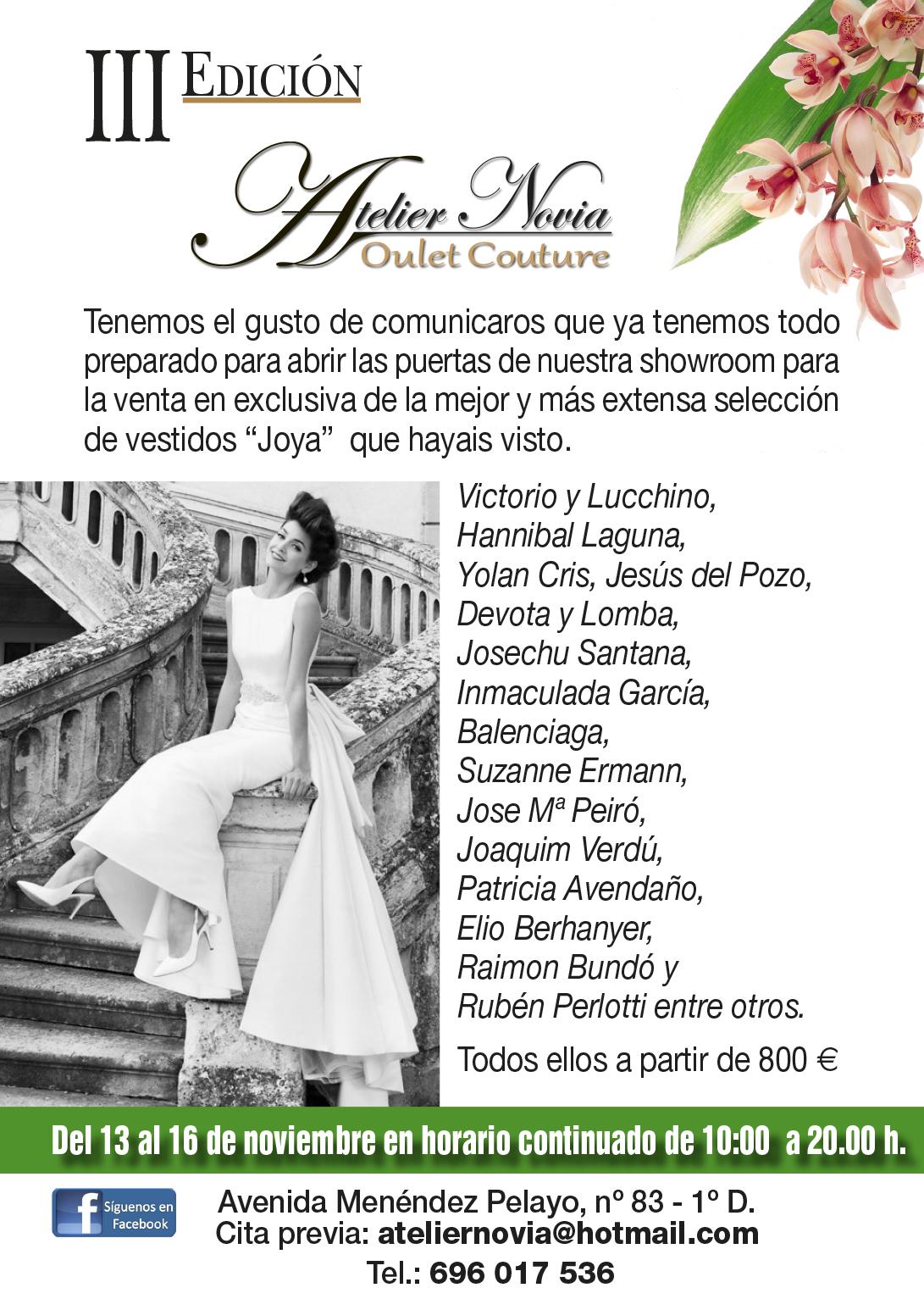 atelier novias