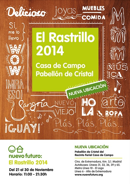 Rastrillo Nuevo Futuro 2014