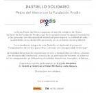 Pedro del Hierro Rastrillo Solidario con la Fundación Prodis