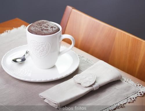 Mug cake de chocolate (bizcocho en taza)