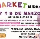 Mercadillo: Market MirayDi por el Día de la Mujer