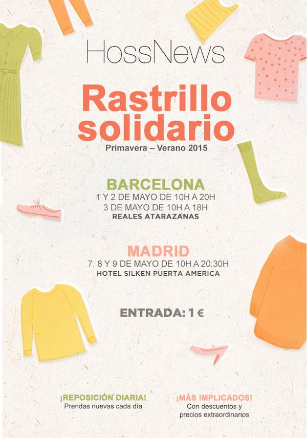 Rastrillo de hoss intropia en madrid y barcelona en mayo 2015 - Rastrillos de muebles en madrid ...