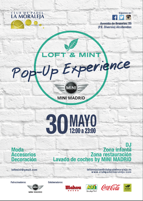 ¡LOFT&MINT inaugura su temporada de Pop-Up Experience!