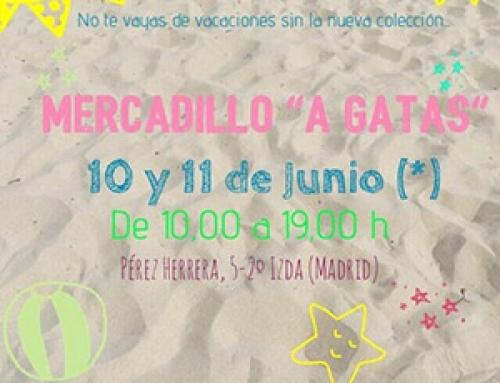 Mercadillo de A Gatas en Madrid