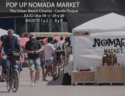 Nómada Market en verano en Madrid