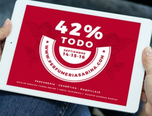 Descuento del 42% en perfumería