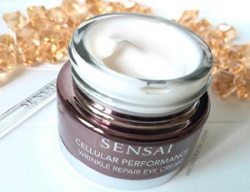 Sensai Cellular Performance Wrinkle Repair Eye Cream un contorno de ojos excelente