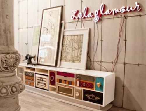 Lola Glamour muebles españoles de estilo inconfundible