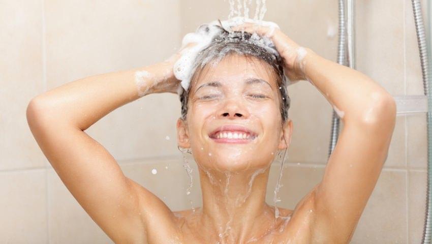 ducha agua tibia