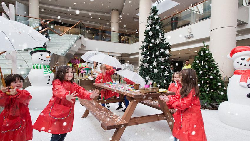 Actividades para niños en Navidad en Madrid en Moraleja Green
