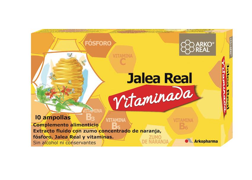 Arko Real Jalea Real Vitaminada 10 ampollas