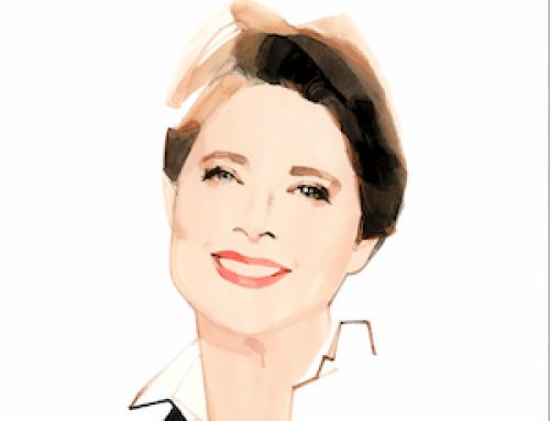 Isabella Rossellini, embajadora de Lancôme