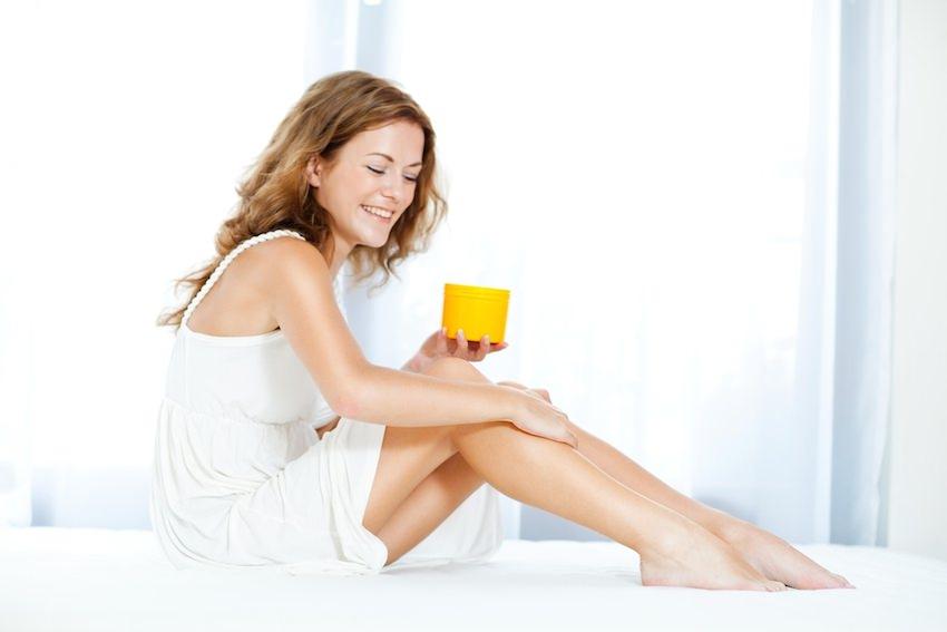 hidratarse la piel