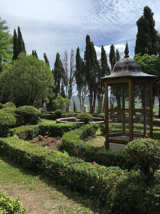 Brihuega jardines Fábrica de paños Carlos III