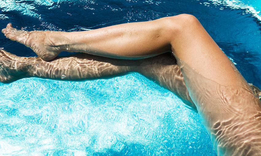 piernas depiladas