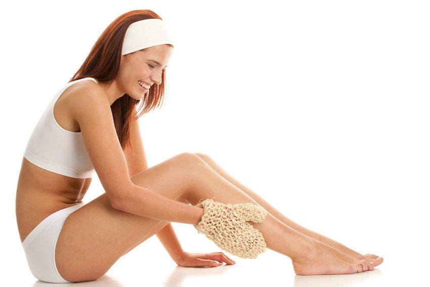 exfoliacion piernas