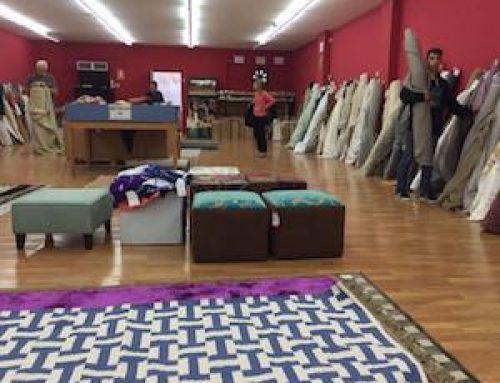 Outlet de Gancedo : telas y alfombras muy baratas