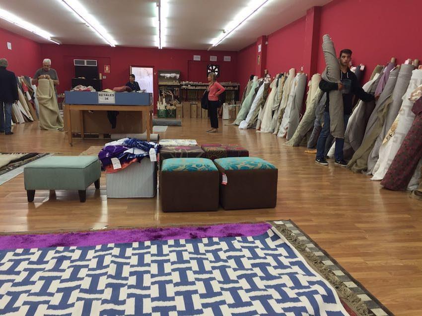 Outlet de gancedo telas y alfombras muy baratas for Alfombras muy baratas