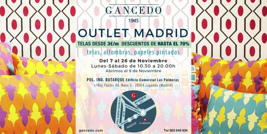 Outlet de Gancedo noviembre 2016