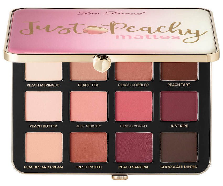 Too Faced paleta Just Peachy Mattes
