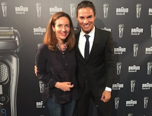 Julio Iglesias Jr y Carla Pereyra embajadores de Braun