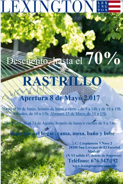 Lexington rastrillo 2017