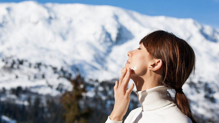 protector solar nieve