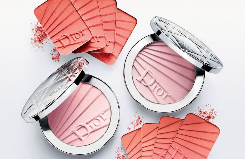 Dior Skin nude spring make up