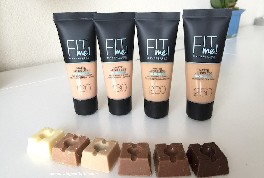 maybelline maquillaje fit me