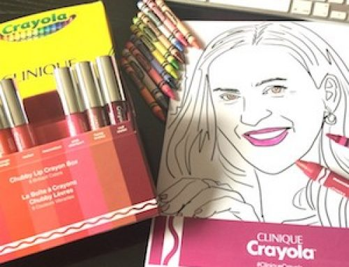 Clinique y Crayola se unen para esta colección de Chubby Stick