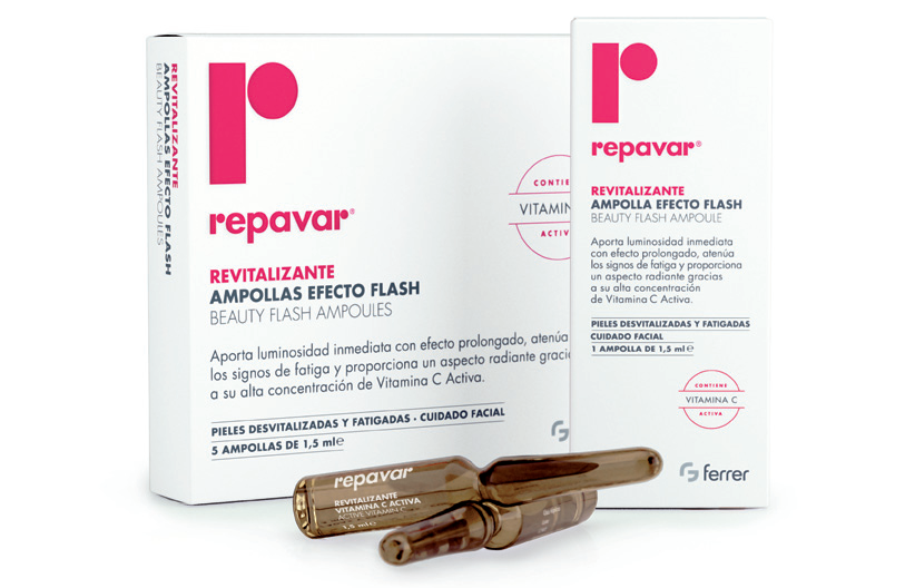 Repavar Revitalizante Ampollas Efecto Flash