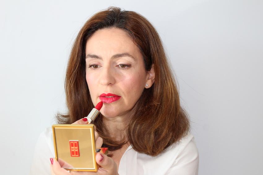 labios rojos elizabeth arden