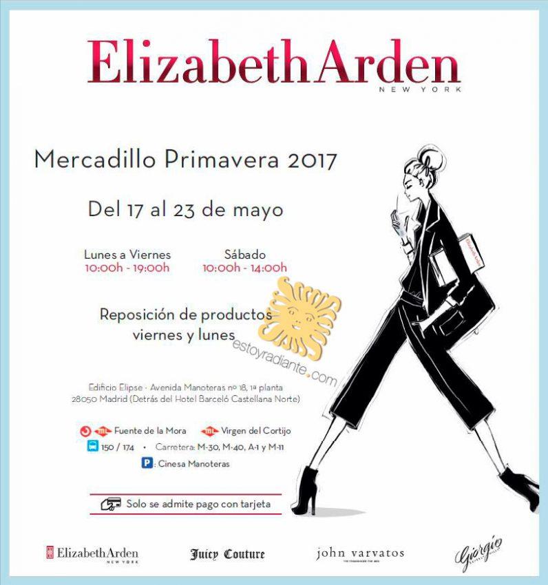 Mercadillo Elizabeth Arden